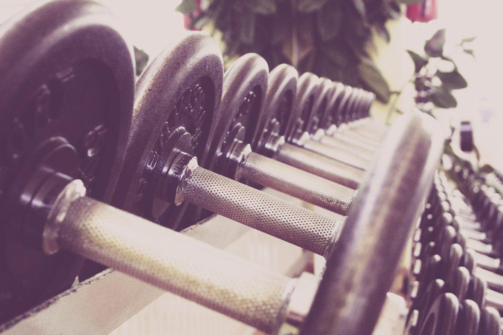 Hanteln Fitness Frauen