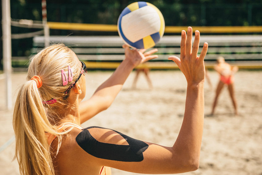 kinesio tape volleyball